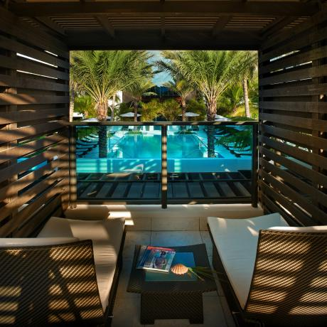 Private Poolside Cabana