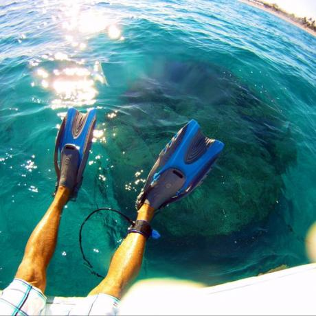 Delray Beach watersports flippers