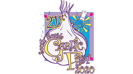 21º logotipo anual do Garlic Fest