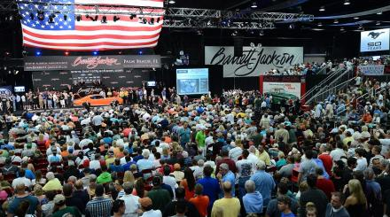 Barrett Jackson Auction Floor