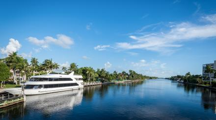 A Delray Yacht Cruises ship