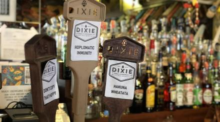 Beer Taps at Dixie Grill