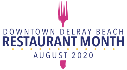 Downtown Delray Beach Restaurant Month Logo