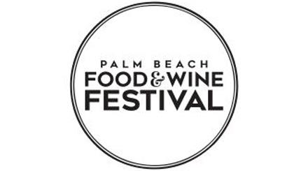 Logotipo do Festival de Palm Beach Food and Wine