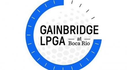 Gainbridge LPGA no logotipo da Boca Rio