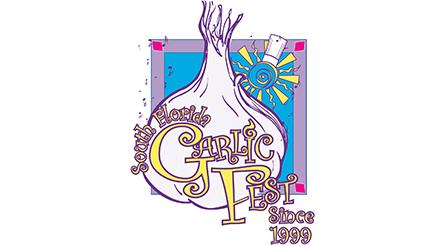 Logotipo del South Florida Garlic Fest
