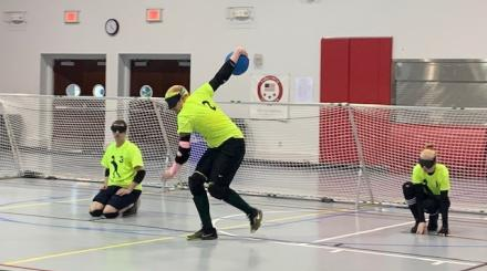 Goalball im Therapeutic Recreation Complex, Lake Worth