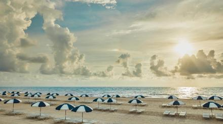Privatstrand bei The Breakers