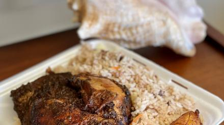 Jerk Chicken from Silver Spoon in Lake Park