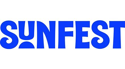 SunFest Logo in Blue