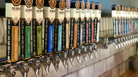 Picture of Beer taps at Due South