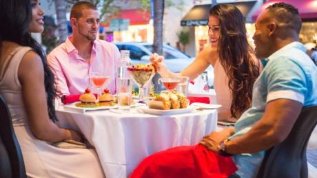 Dining out in Delray Beach