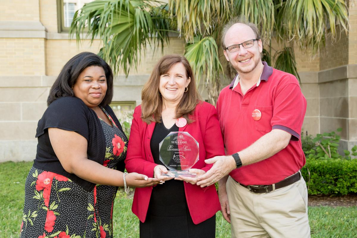 27th annual award winner: the palm beach zoo