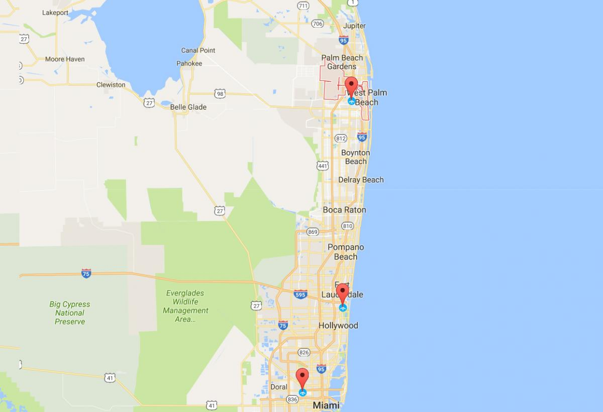 Southwest Florida International Airport Full Terminal Map