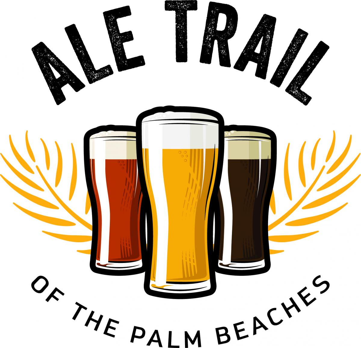 Trilha do Ale do The Palm Beaches logotipo