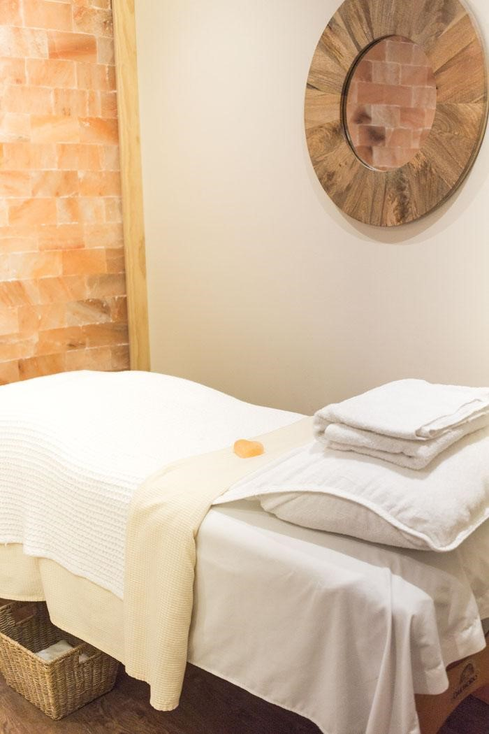 Kaffee's Garden Spa treatment room