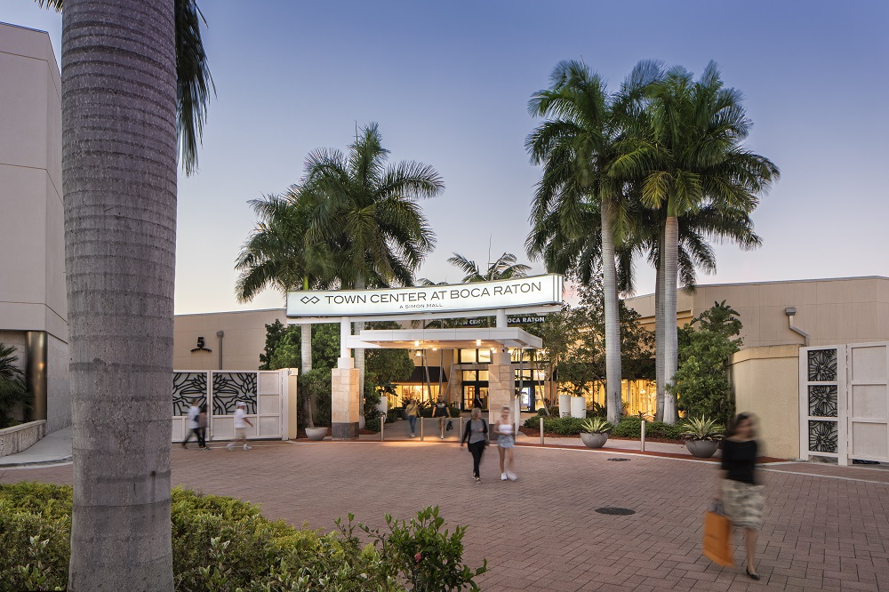 Town Center at Boca Raton Eingang