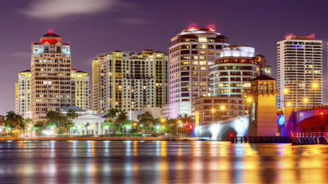 Skyline von West Palm Beach