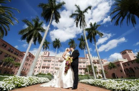 Wedding at the Boca Ration Resort Club