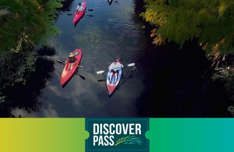 Kayaking with Discover Pass
