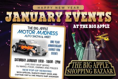 1 Year Anniversary Celebration Big Apple Motor Madness Custom Auto Show & Meet