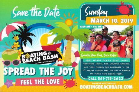 11th Annual Boating & Beach Bash for People with Disabilities