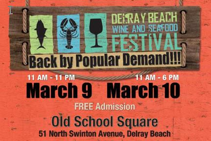 4th Annual Delray Beach Wine & Seafood Festival