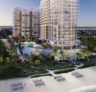 Amrit Ocean Peace & Happiness Towers - Two graceful towers rising from the Atlantic shoreline of pristine Singer Island.