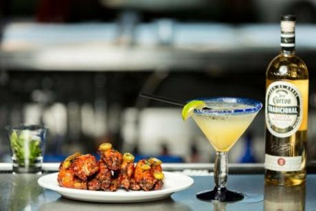 Cabo Flats Cantina & Tequila Bar CityPlace - Margarita and wings