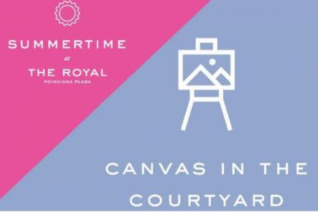 Canvas in the Courtyard