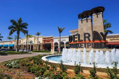 Delray Marketplace Fountain