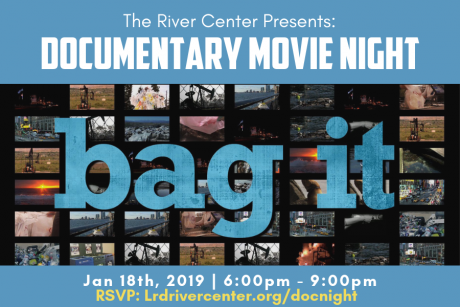 "DOCUMENTARY MOVIE NIGHT  SPECIAL PRESENTATION OF ""BAG IT"""