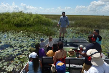 1-Hour Group Airboat Tour - Enjoy a fun and educational Group Airboat Tour