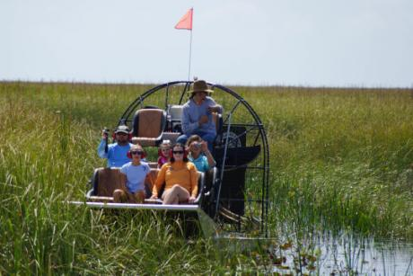 Family Day In The Everglades - Bring your family big or small for a fun and educational Airboat Tour in the heart of the Everglades