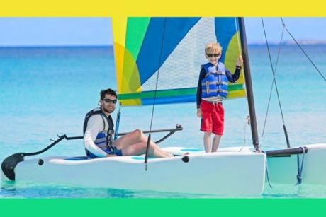 Get Wet Watersports - Have fun on a Hobiecat
