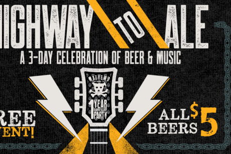 Highway to Ale Music Fest & Anniversary of Mathews Brewing Co.