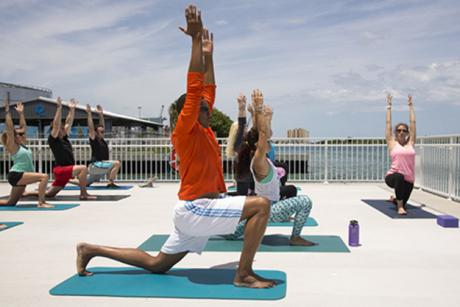 Mindful Moments: Yoga at Manatee Lagoon