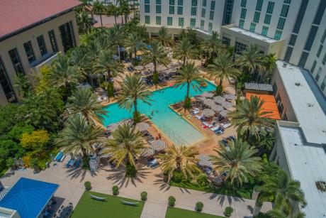 Poolside Brunch at Hilton West Palm Beach