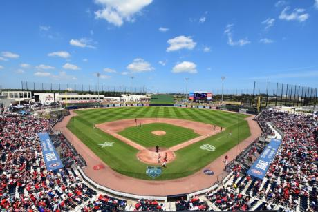 SPRING TRAINING - HOUSTON ASTROS AND WASHINGTON NATIONALS
