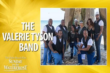 THE PALM BEACH POST SUNDAY ON THE WATERFRONT - The Valerie Tyson Band