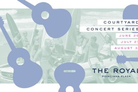 The Royal Poinciana Plaza's Last Courtyard Concert of Summer 2019
