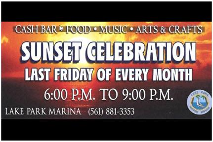 Town of Lake Park Sunset Celebration - Lake Park Marina