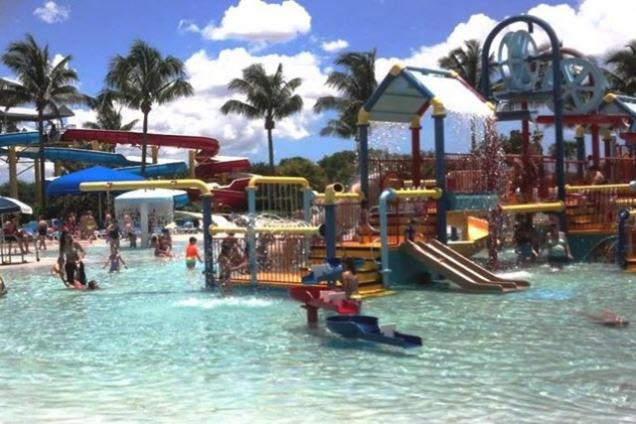 Coconut Cove Waterpark Amp Recreation Center The Palm