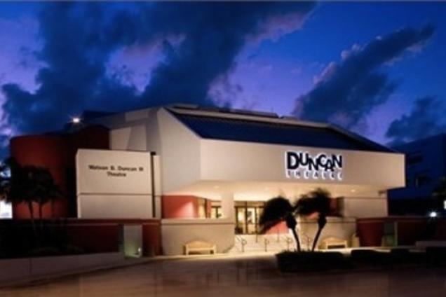 Duncan Theatre At Palm Beach State College Pbsc