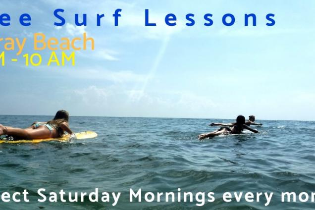 Free Surf Lessons