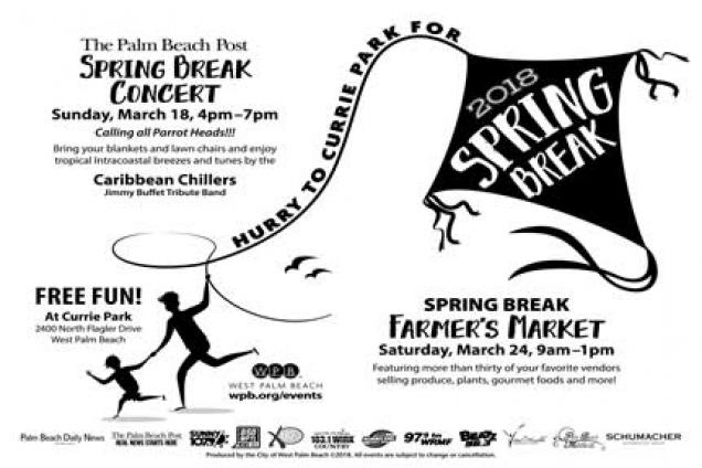 Hurry to Currie - Spring Break Concert and a Spring Break Farmers Market