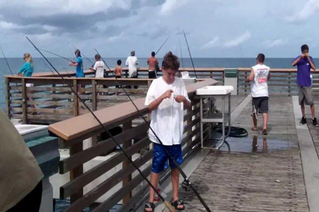 Juno Beach Park Fishing Pier