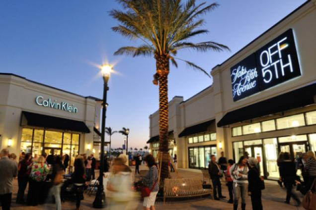 Palm beach fashion outlet mall