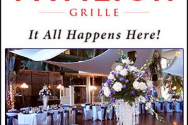 Pavilion Grille Wedding Logo