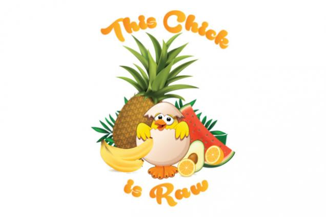 This Chick is Raw logo